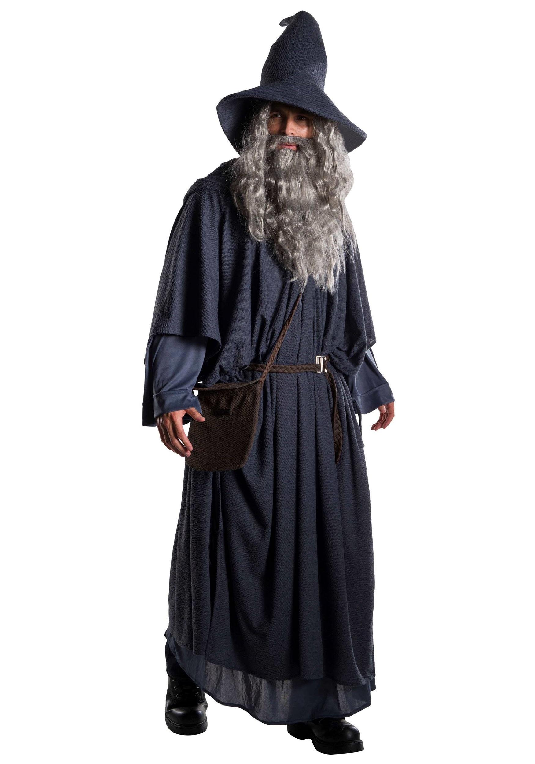 Premium Gandalf Costume for Plus Size Men