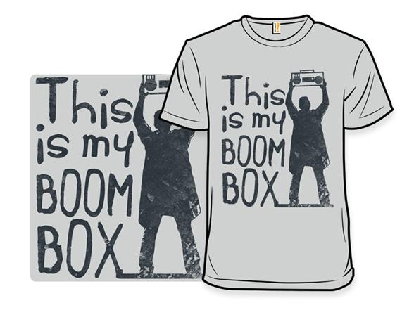My Boombox T Shirt