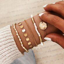 5pcs Beads Bracelet