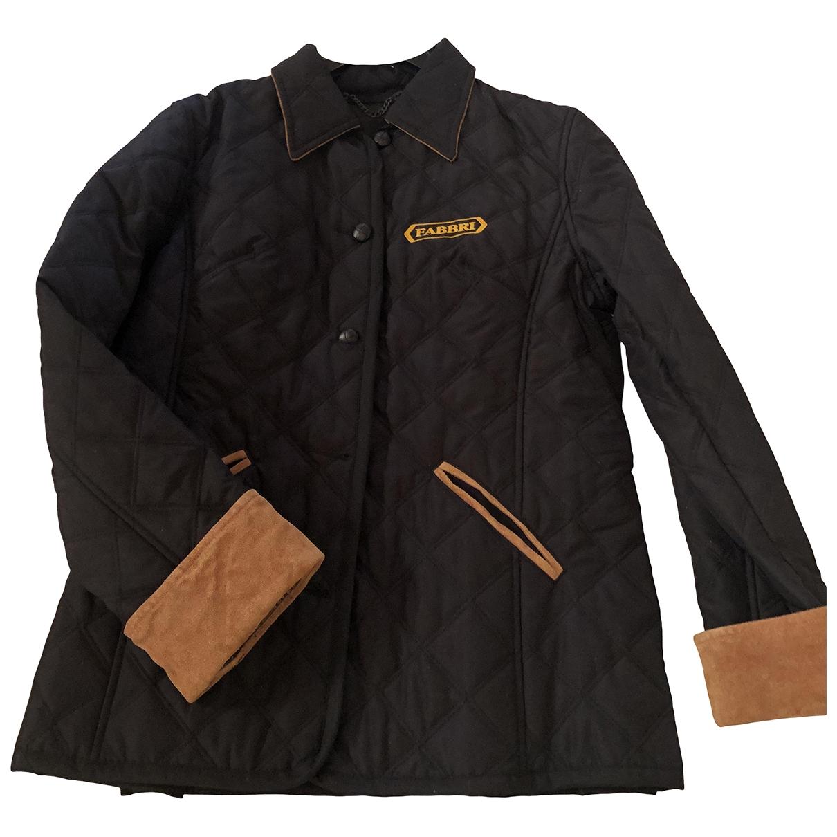 Flavio Castellani \N Black coat for Women 40 FR