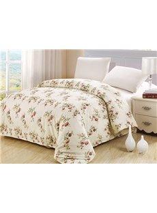 Pastoral Wild Flower 4-Piece Cotton Duvet Cover Sets