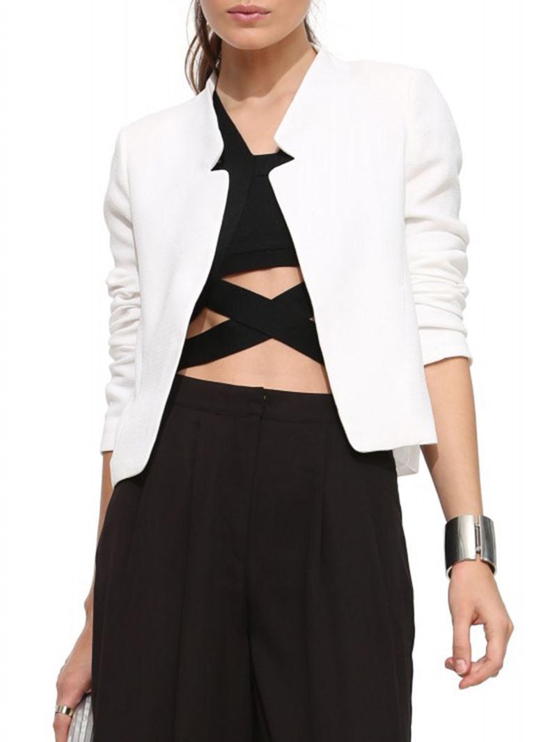 Ericdress Straight Office Lady Single Jacket