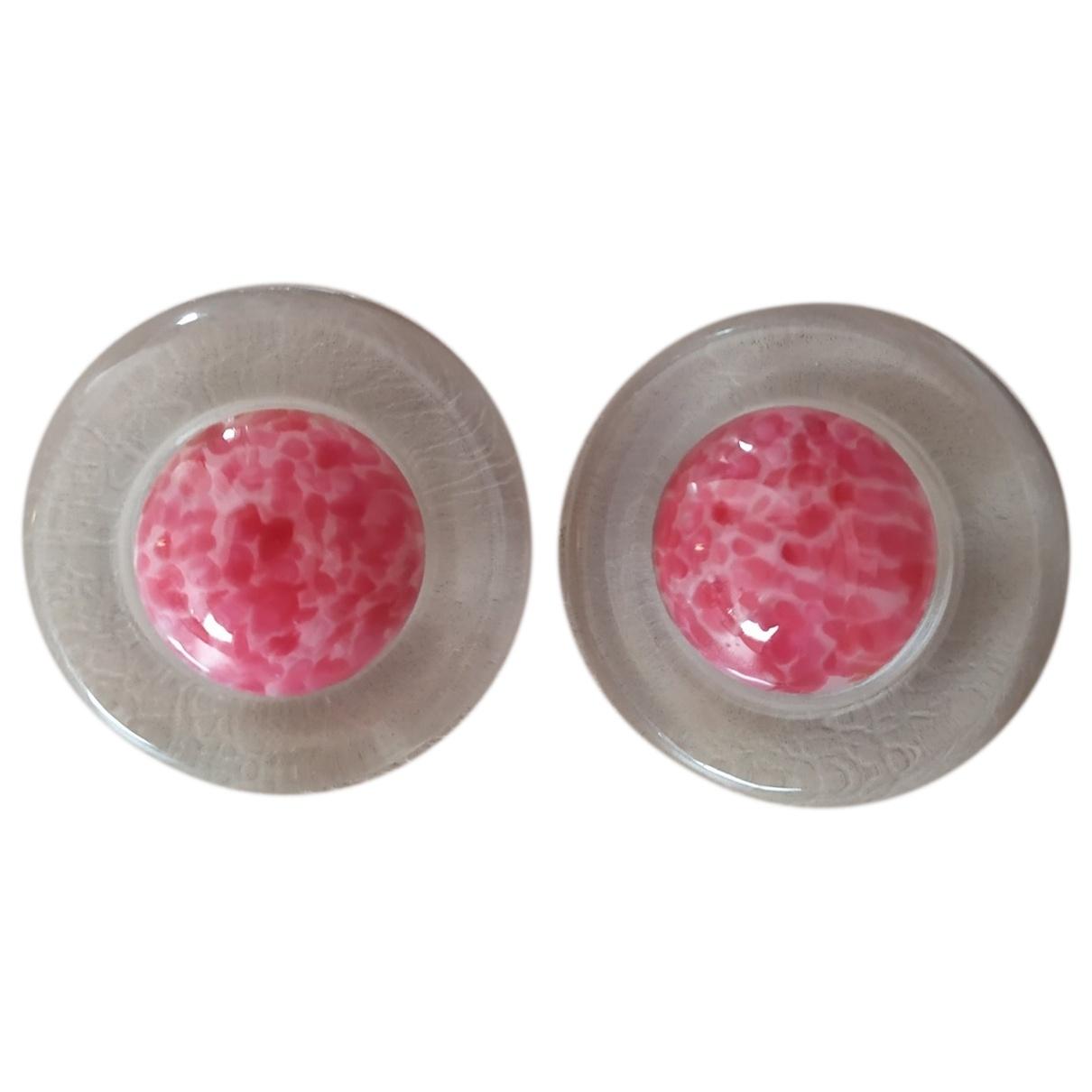 - Boucles doreilles   pour femme - rose