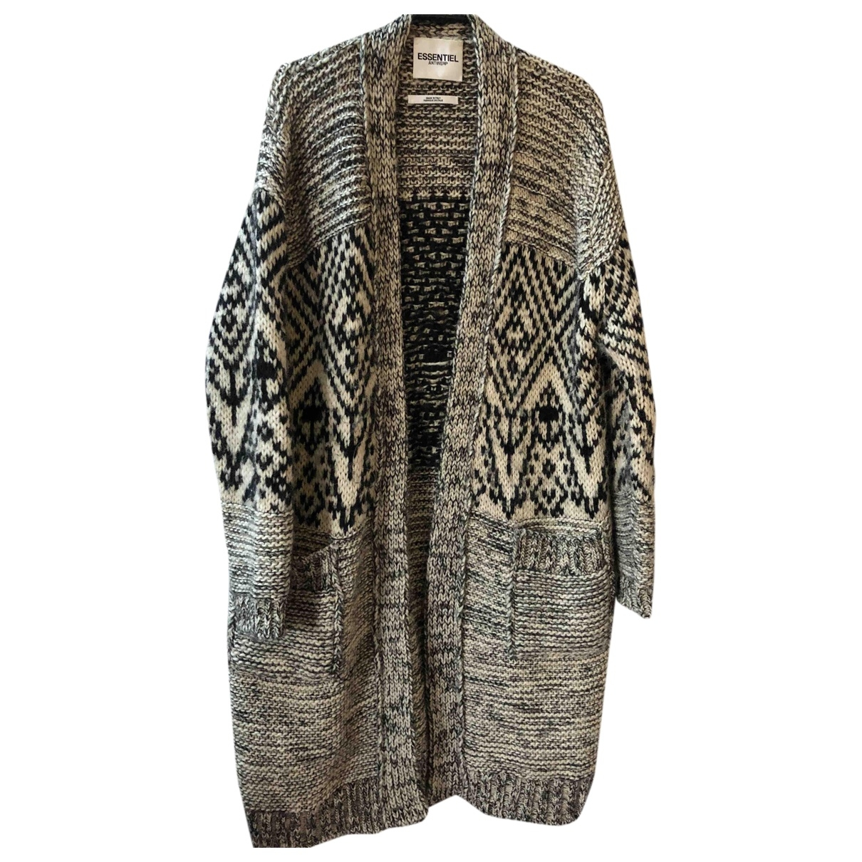 Essentiel Antwerp \N Black Wool Knitwear for Women 12 UK