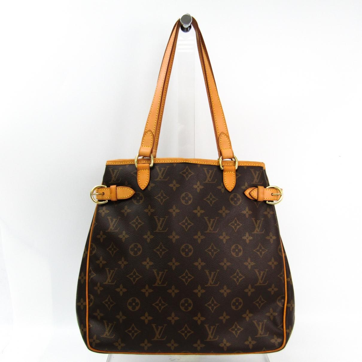 Louis Vuitton Batignolles Brown Cloth handbag for Women \N
