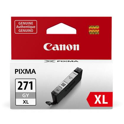 Canon CLI-271XLGY 0340C001 cartouche d'encre originale grise haute capacité
