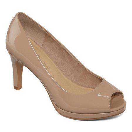 CL by Laundry Womens Nakia Pumps Stiletto Heel, 7 1/2 Medium, White