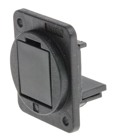 RS PRO Panel Blanking Plate with Plain Hole for use with FT Series Connector (5)