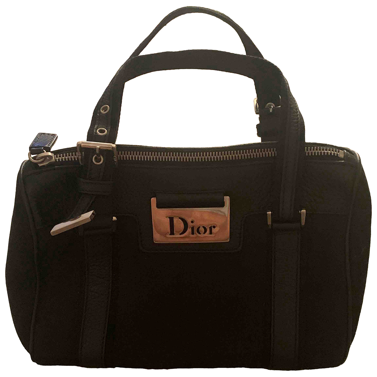 Dior N Black Cotton handbag for Women N