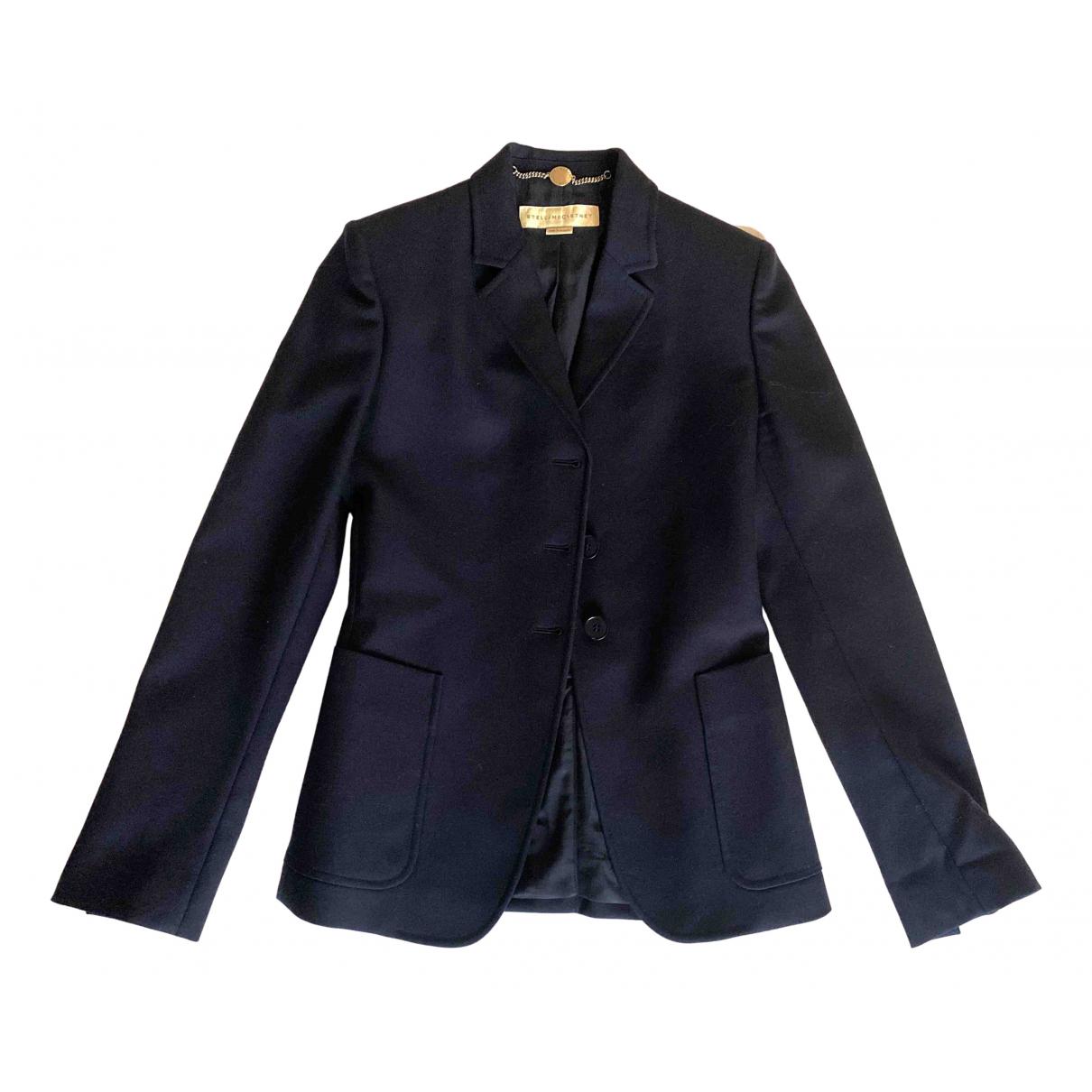 Stella Mccartney - Veste   pour femme en laine - bleu
