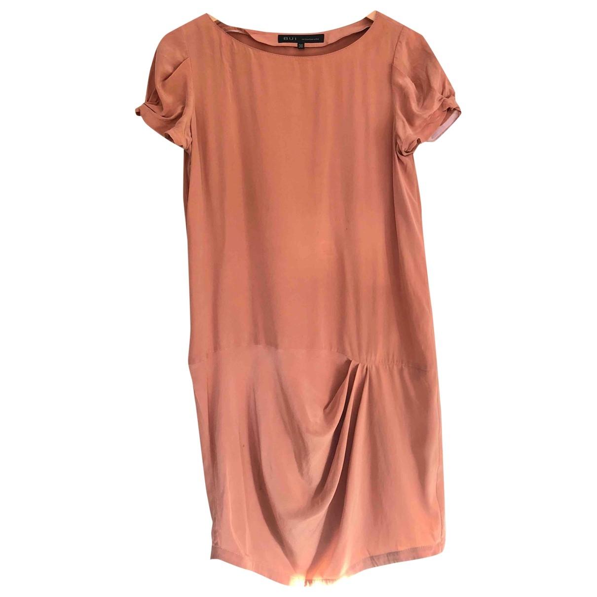 Barbara Bui \N Kleid in  Orange Seide