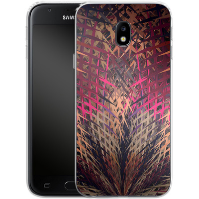 Samsung Galaxy J3 (2017) Silikon Handyhuelle - Grid Explosion von Danny Ivan