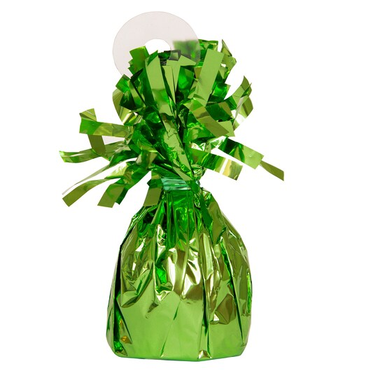 Foil Balloon Weight, Green By Unique | Michaels®