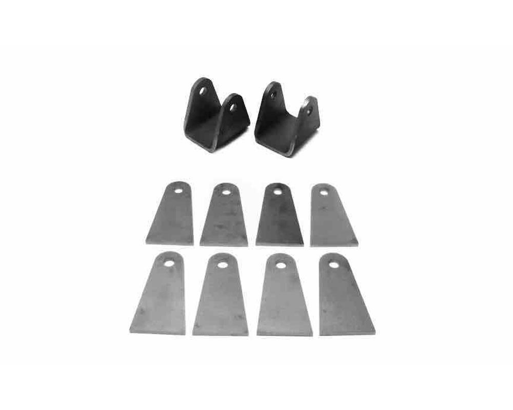 Steinjager J0003270 Tabs and Clevises, Weld On 4 Link Tab and Clevis Kits 0.750 Bore Straight Mount 2.50 Inch Clevis Jaw 4.00 Inch Straight Tab Length