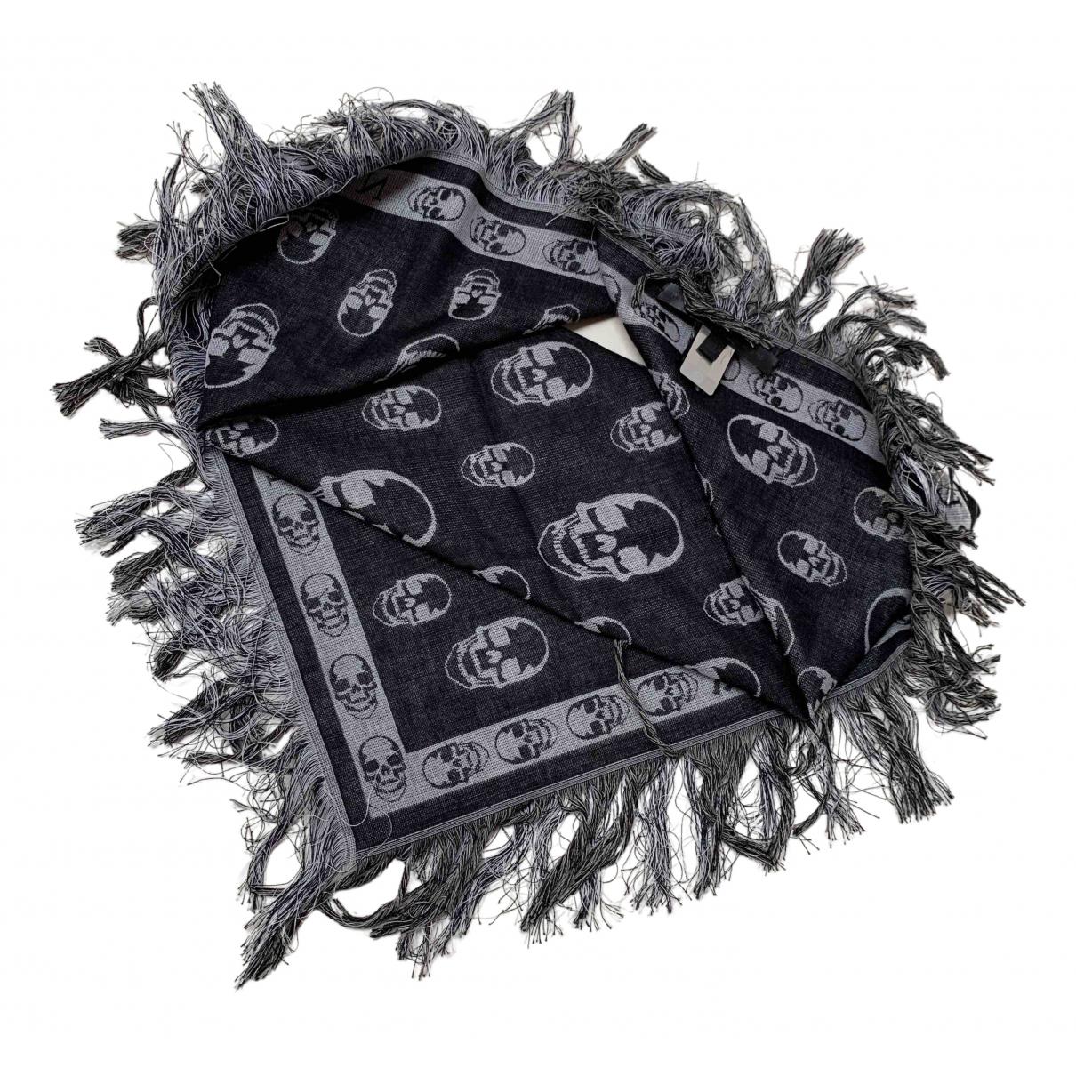 Philipp Plein - Foulard   pour femme en coton - noir