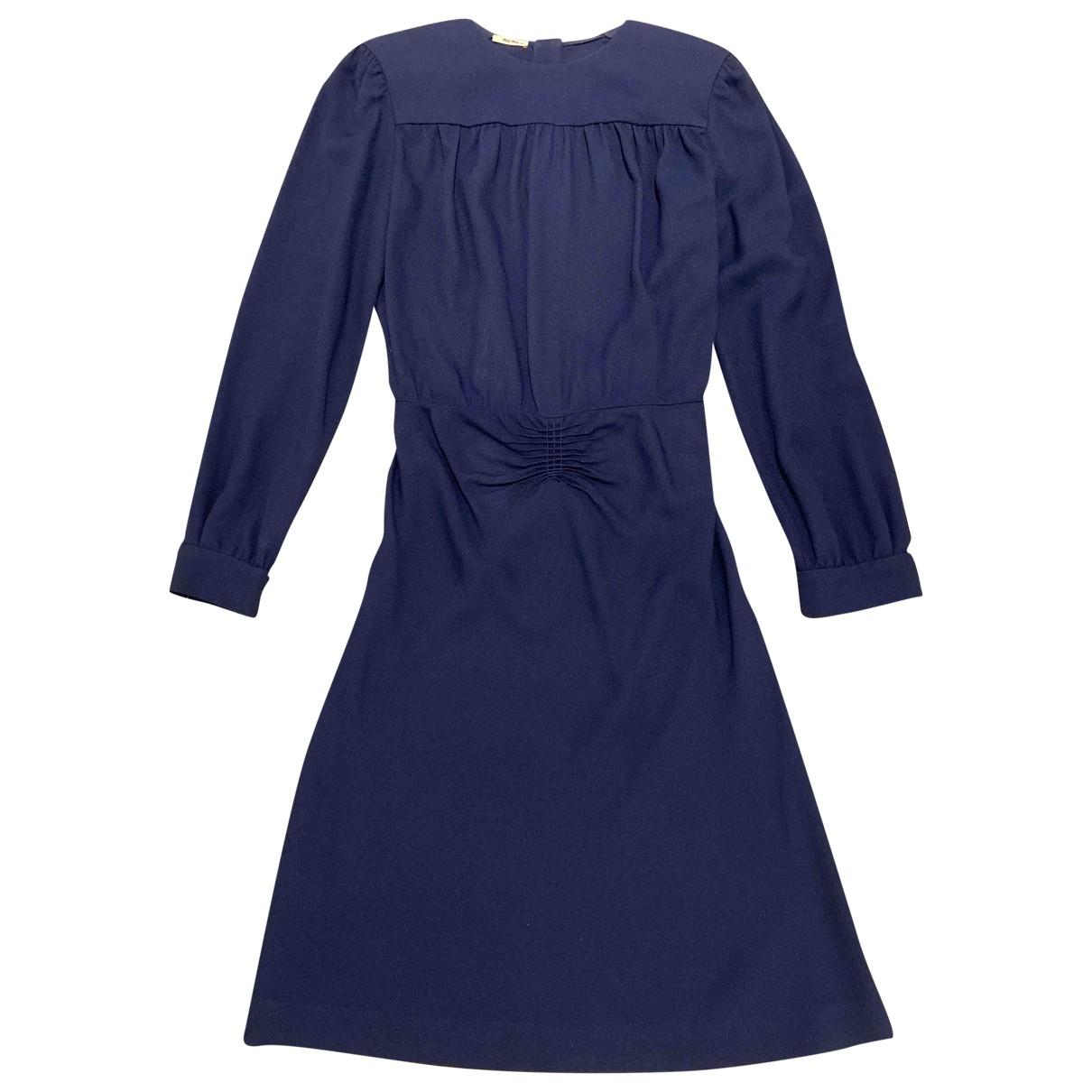 Miu Miu - Robe   pour femme - marine