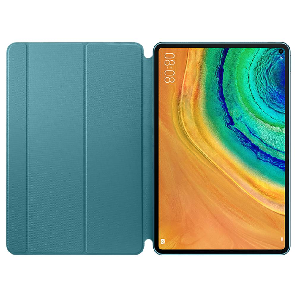 HUAWEI Protective Smart PU Leather Case For Matepad Pro - Green