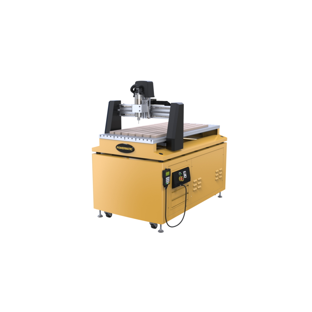 2x4 CNC Kit with Electro Spindle, Model PM-2x4SPK
