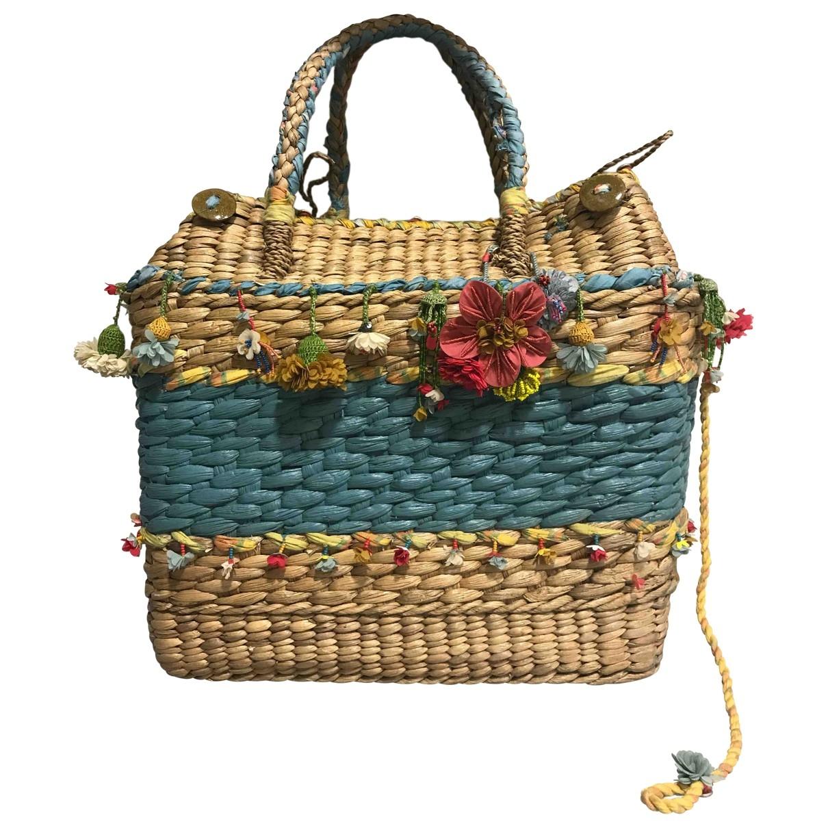 Non Signé / Unsigned \N Multicolour Wicker handbag for Women \N