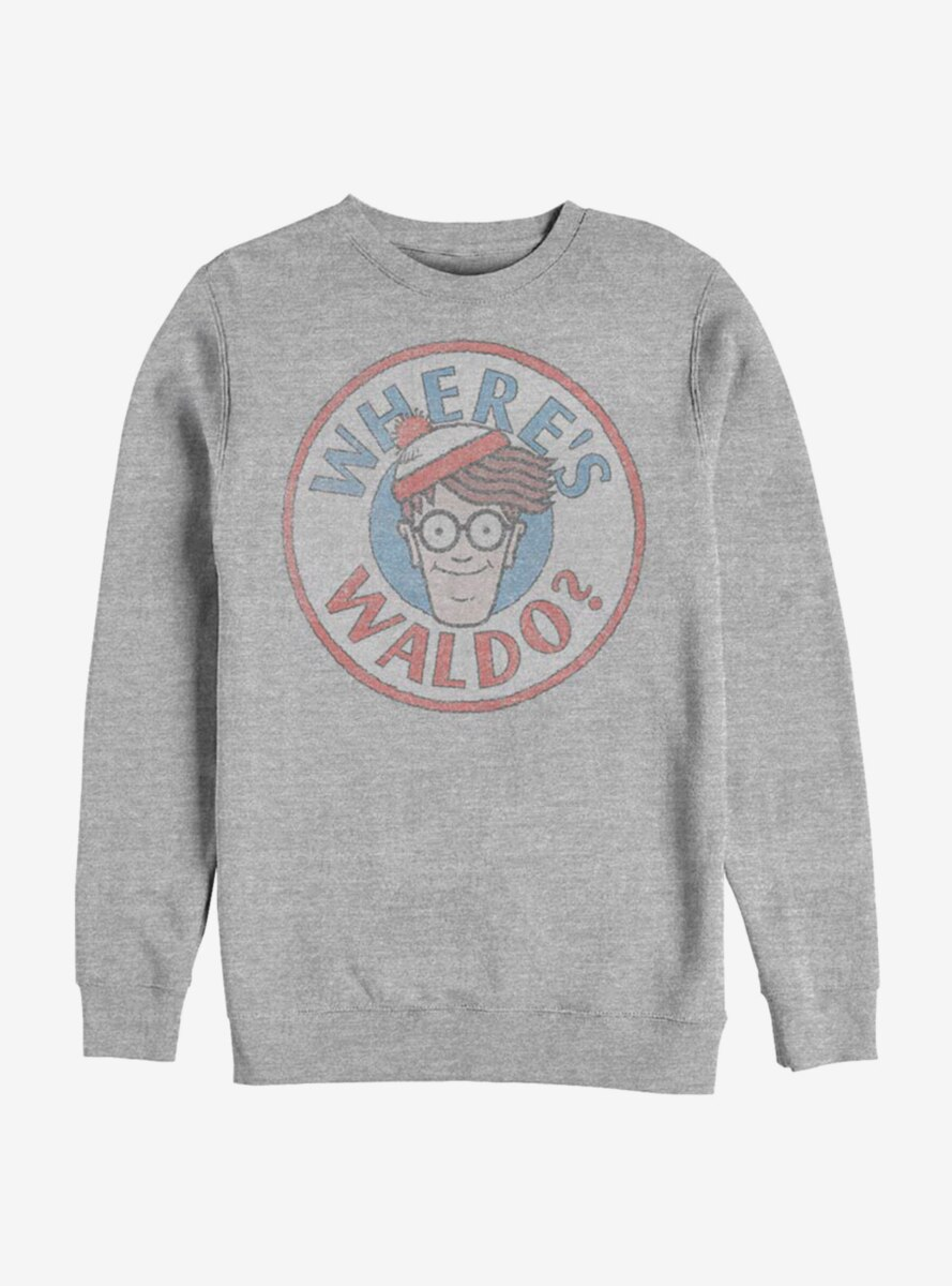 Where's Waldo Head Games Sweatshirt