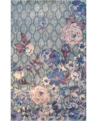 44516H 10 x 13 ft. Xanthe Area Rug  in Gray