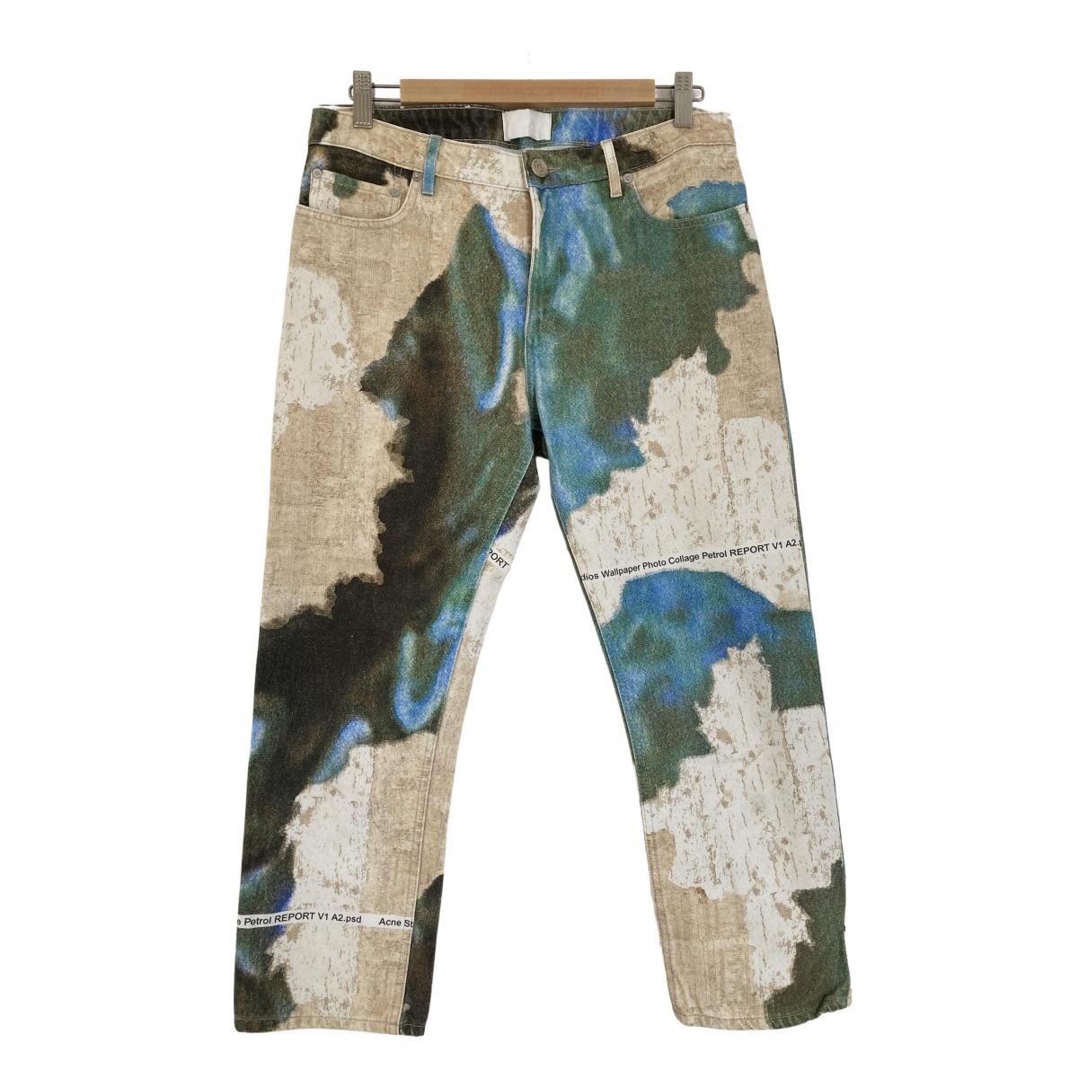 Acne Studios N Multicolour Cotton Jeans for Women 36 FR
