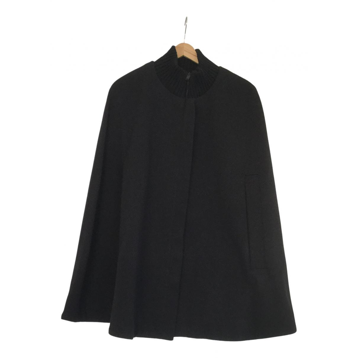 Cos - Veste   pour femme en laine - noir