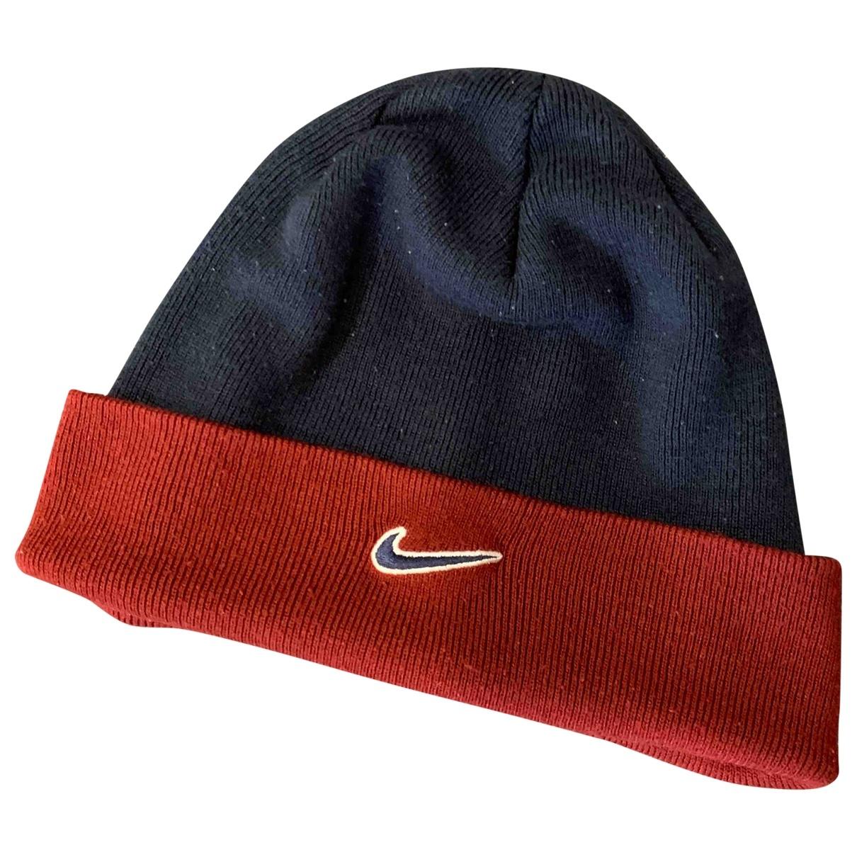 Nike - Chapeau & Bonnets   pour homme en laine - bleu