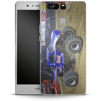 Huawei P9 Silikon Handyhuelle - Puddle von Bigfoot 4x4