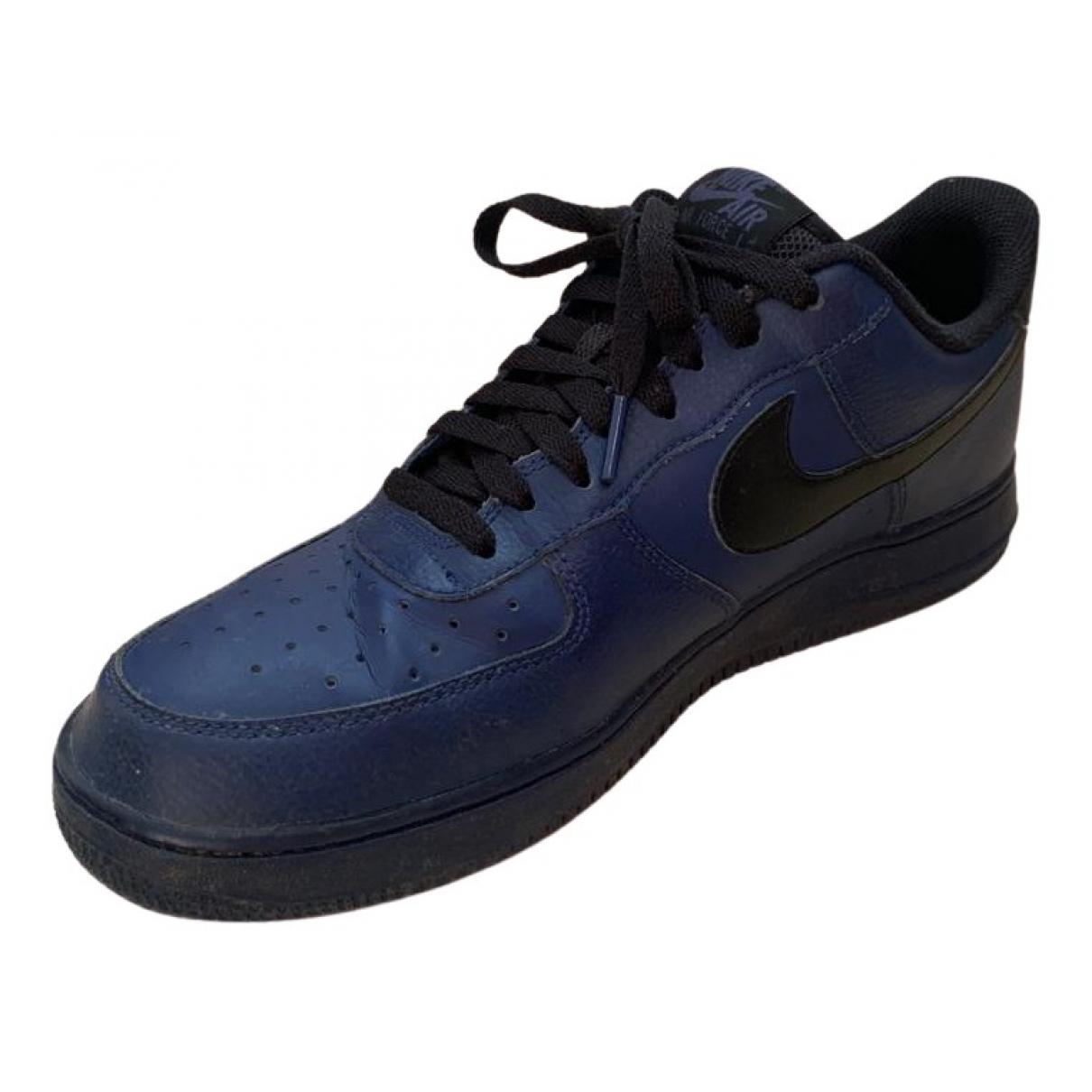 Nike - Baskets Air Force 1 pour homme en autre - bleu