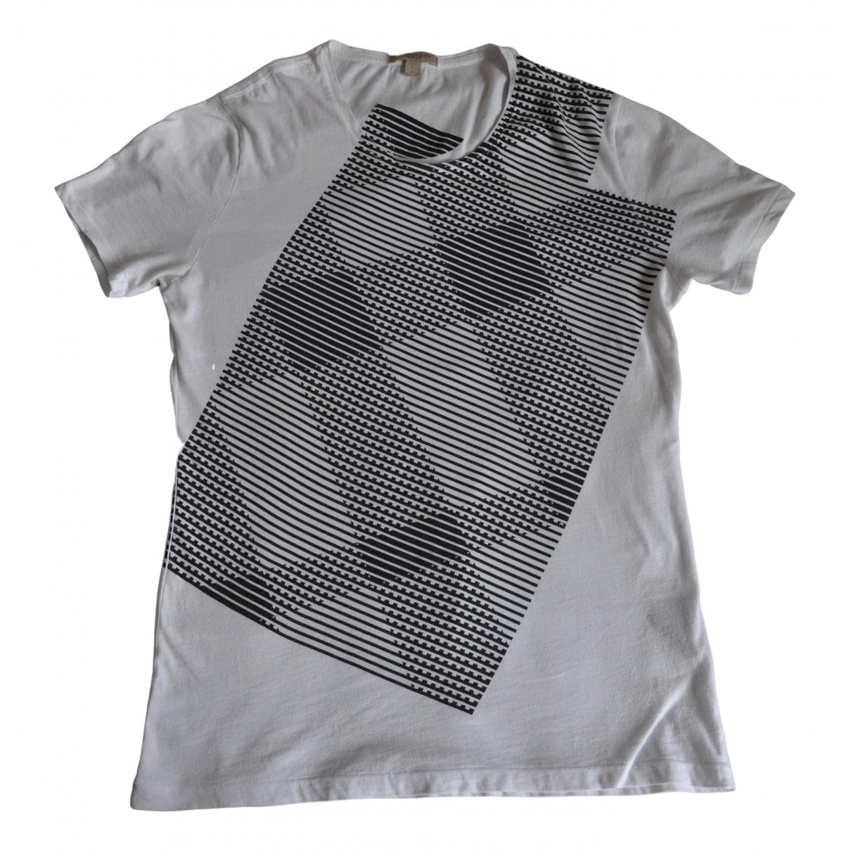 Burberry \N White Cotton T-shirts for Men M International