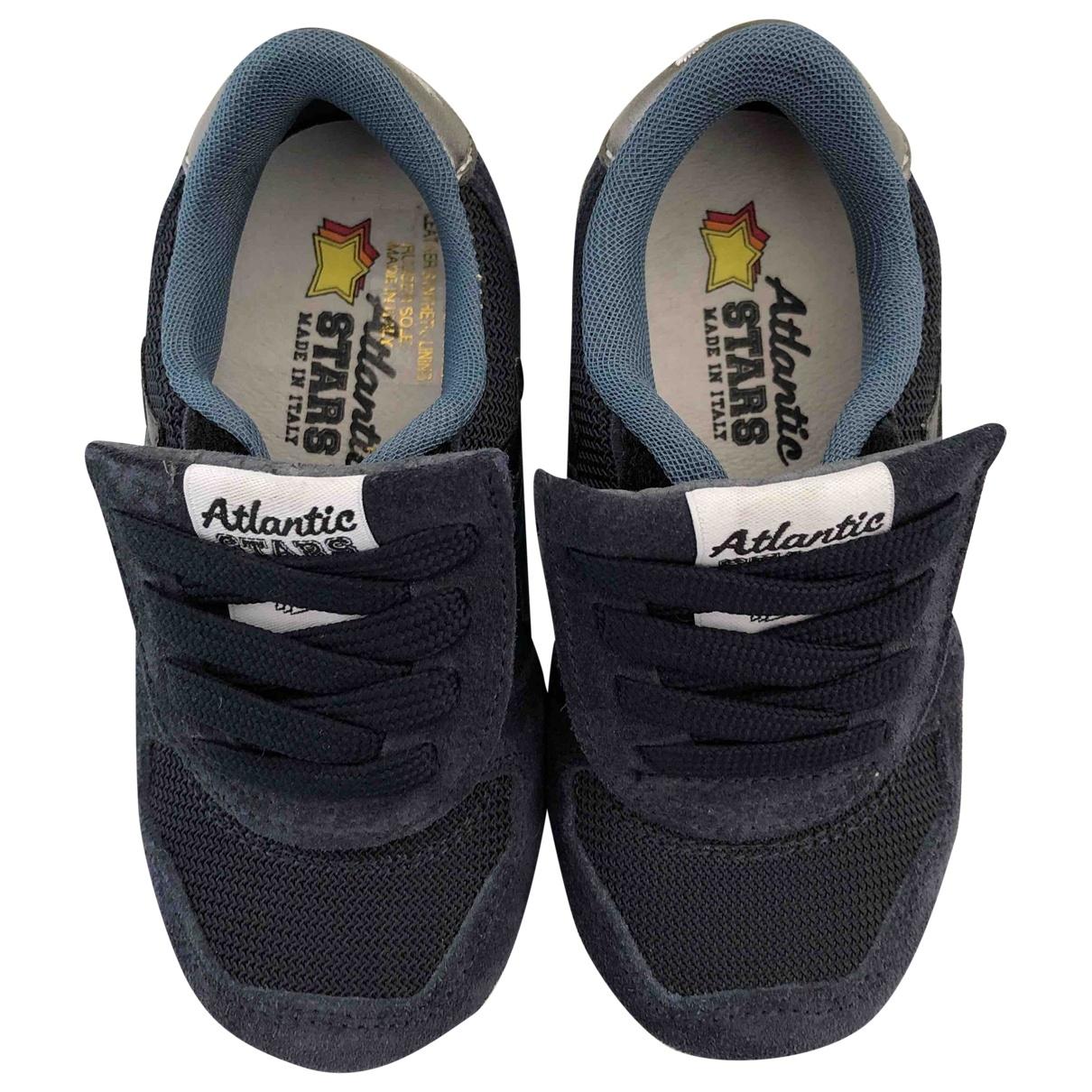 Atlantic Stars - Baskets   pour enfant en suede - bleu