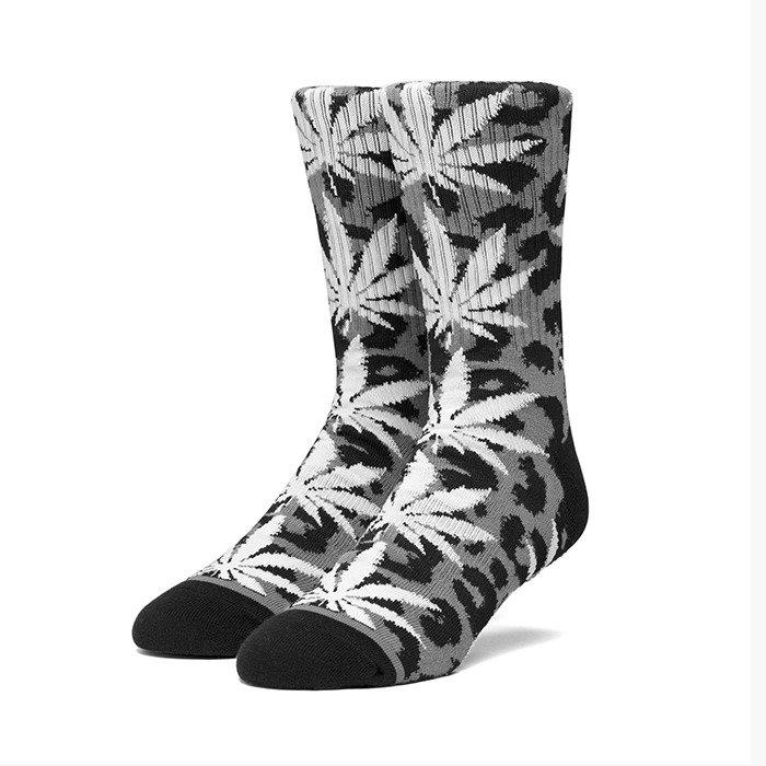 HUF Neo Leopard Plantlife Sock SK00448 BLACK