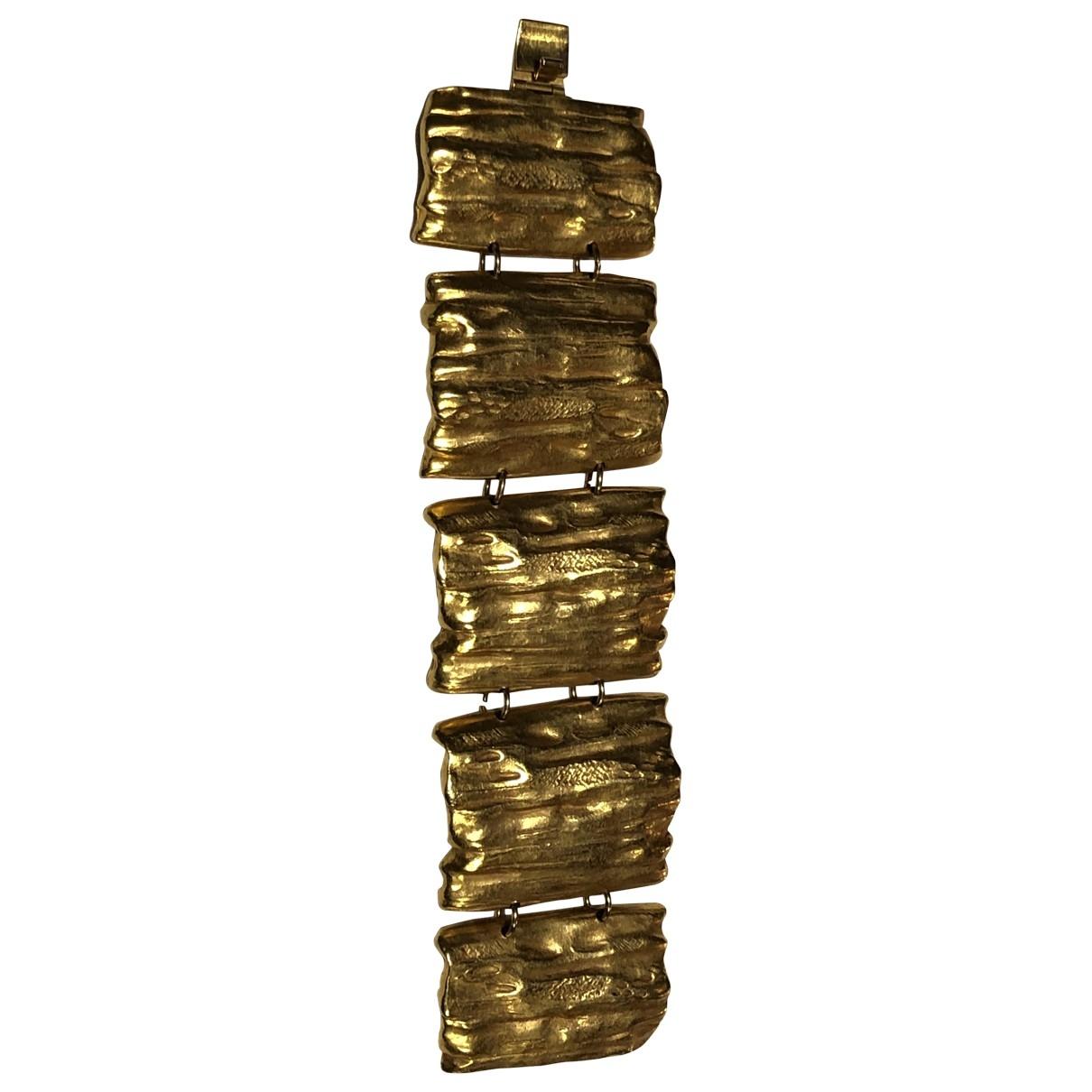 Delphine Nardin - Bracelet   pour femme en plaque or - dore