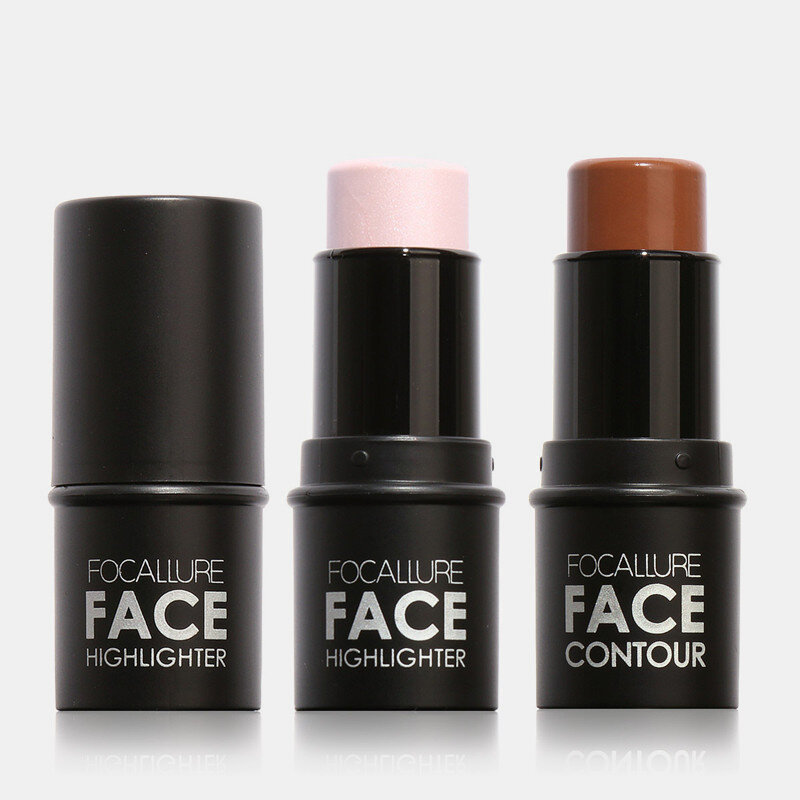 Highlighter Stick Highlighting Shadow Nose Shadow Powder Creamy Water-Proof Shimmer Repair Stick