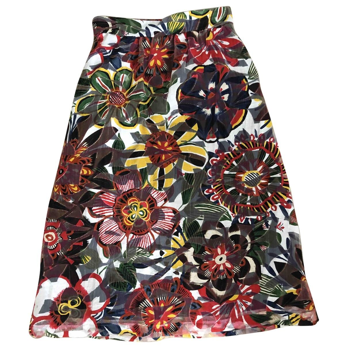 Max & Co \N Multicolour Cotton skirt for Women 42 IT