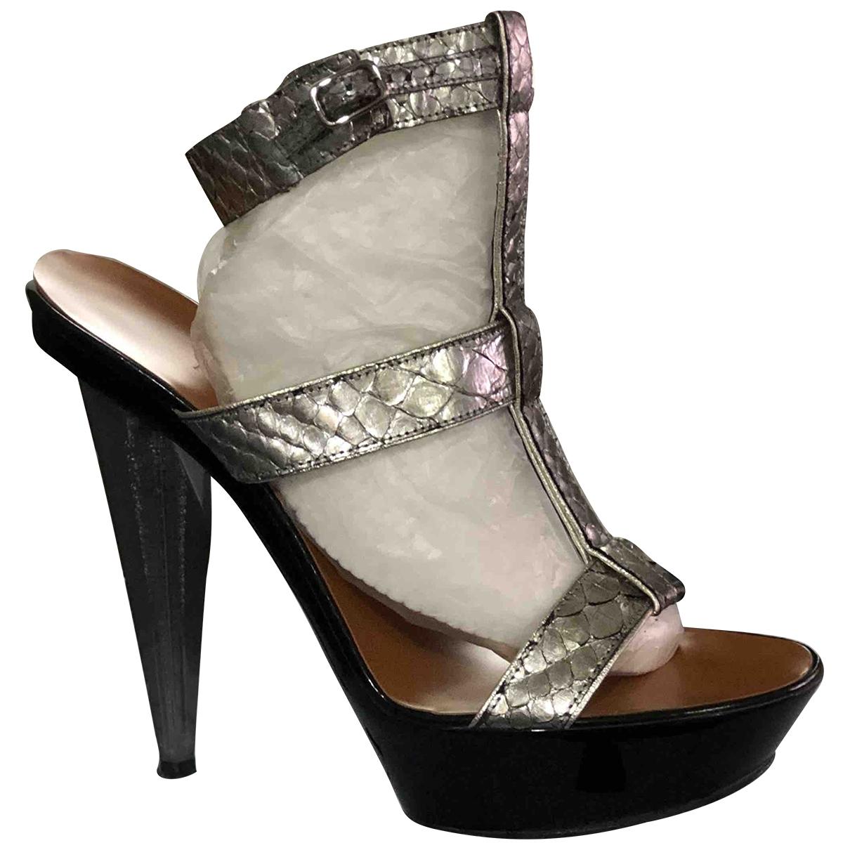 Sandalias de Piton Lanvin