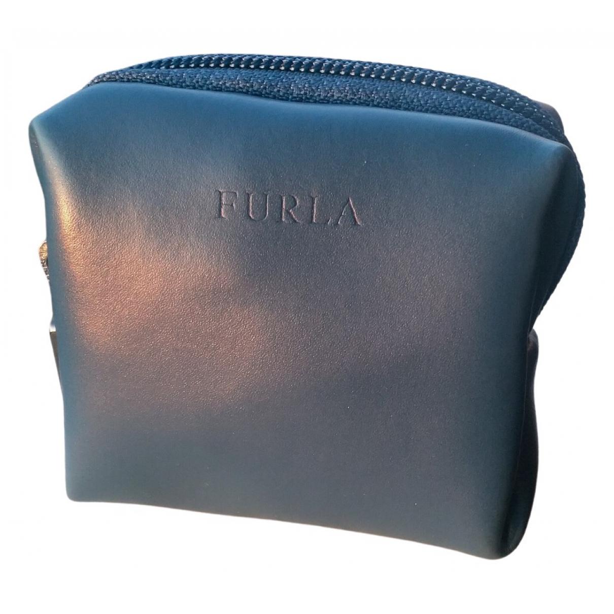 Furla \N Blue Leather wallet for Women \N