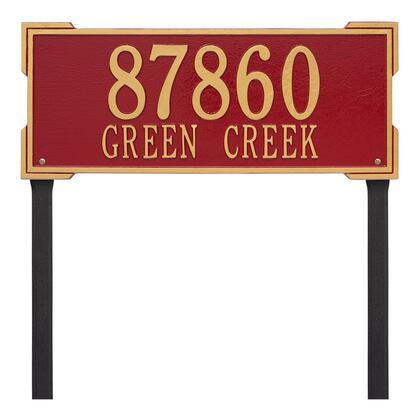 1122RG Personalized Roanoke Plaque - Estate -Lawn - 2 Line in