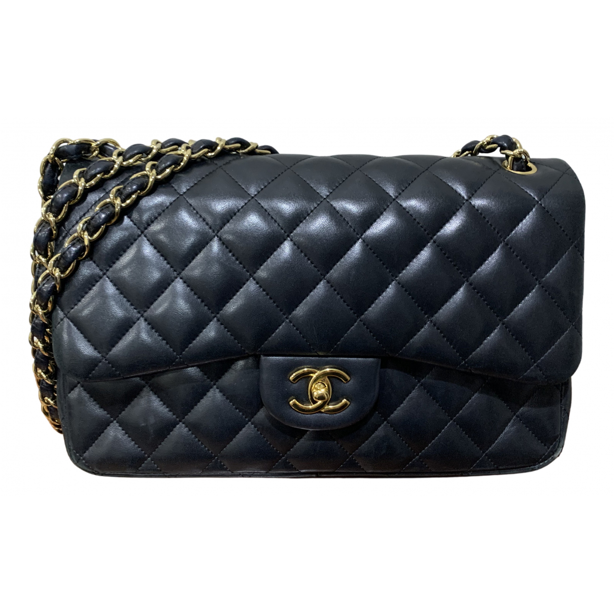 Chanel Timeless/Classique Black Leather handbag for Women N