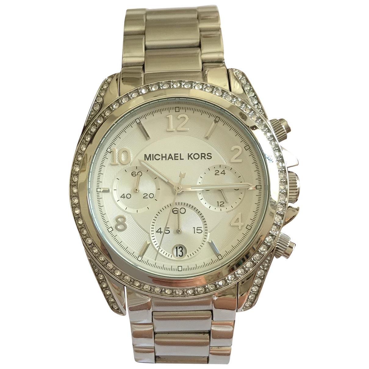Michael Kors \N Silver Steel watch for Women \N