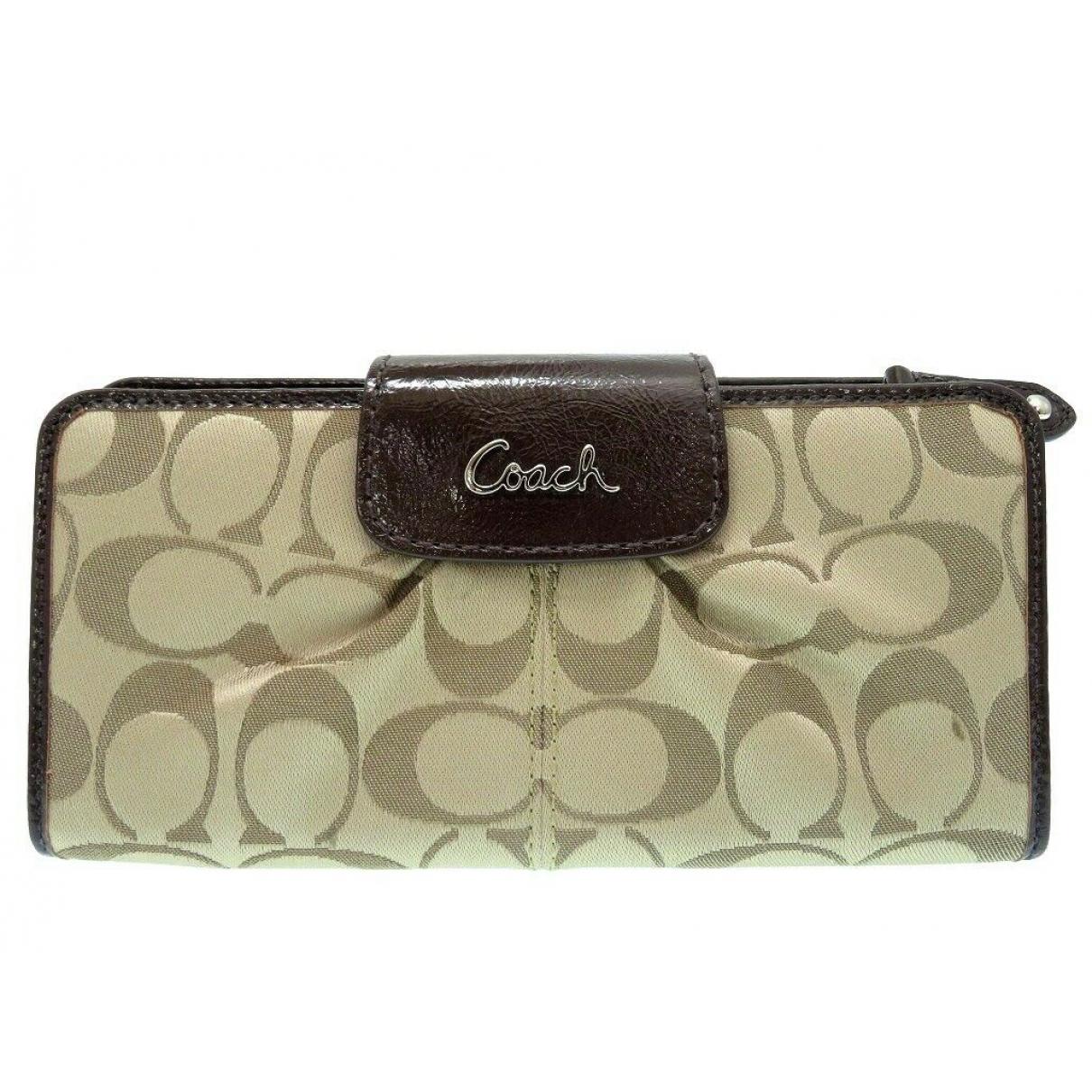 Coach \N Leather wallet for Women \N