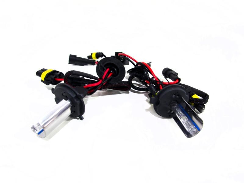 Race Sport Lighting H4-12K-SB-RB H4-1 12K Single Beam HID Replacement Bulbs