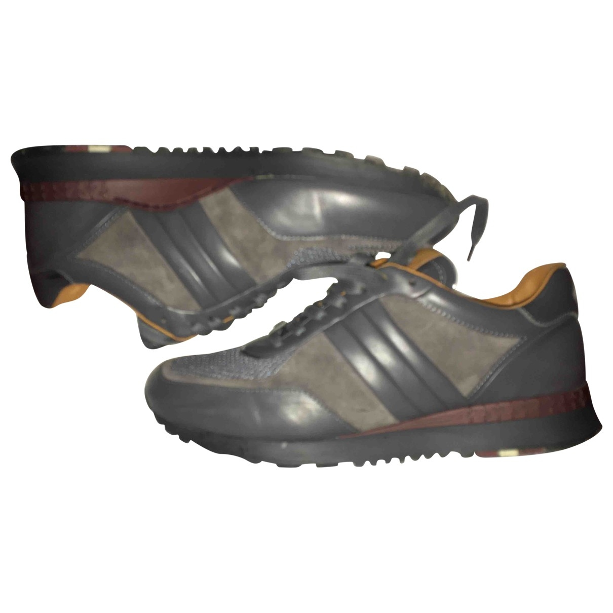 Bally \N Sneakers in  Braun Veloursleder
