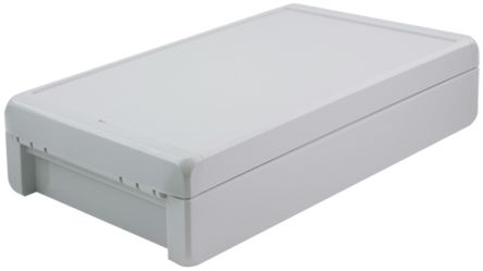Bopla Bocube, Light Grey Polycarbonate Enclosure, IP66, IP68, Flanged, 271 x 170 x 60mm