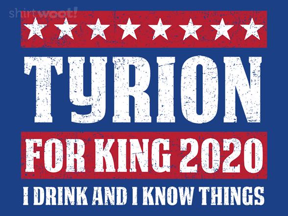 Tyrion 2020 T Shirt