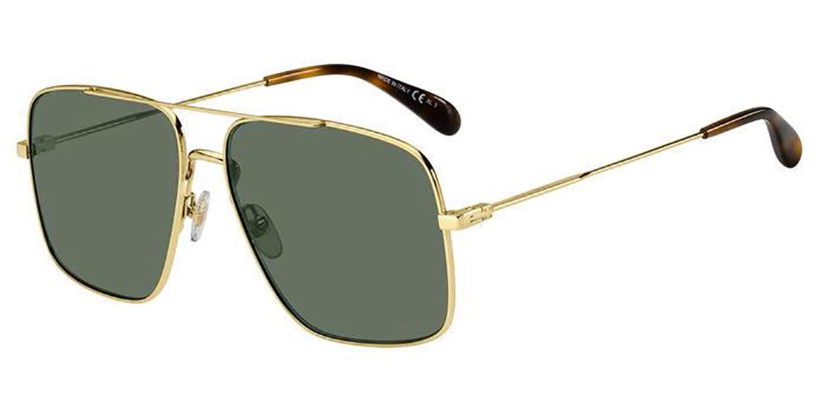 Givenchy GV 7119/S J5G/QT Men's Sunglasses Gold Size 61