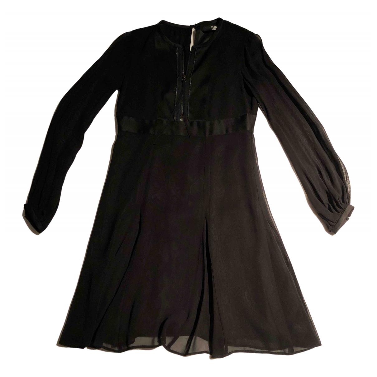 Karl Lagerfeld \N Black dress for Women 36 FR
