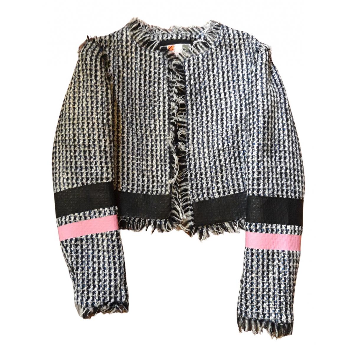 Msgm - Blousons.Manteaux   pour enfant en laine