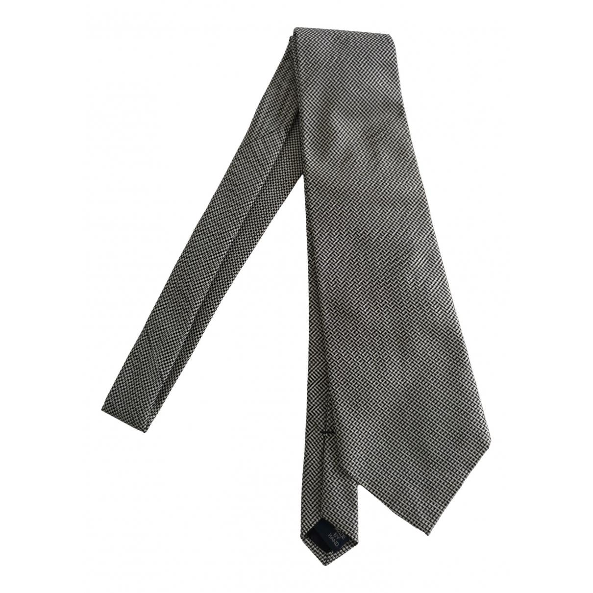 Polo Ralph Lauren - Cravates   pour homme en soie - gris